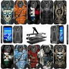 For LG Stylo 3 | Stylo 3 PLUS LS777 Shockproof Dual Layer Bumper Case-Tough Art