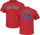 J.D. Martinez #28 Boston Red Sox Mens T-Shirt RED S-2XL