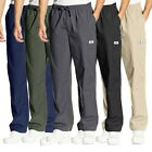 Mens Casual Cotton Pants Overalls Strech Waist Loose Running Long Trousers