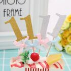 10X Boy Girl First Birthday Cupcake Toppers 1st Year Home Use Party Decor 97k