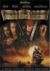 Pirates of the Caribbean: The Curse of the Black Pearl DVD, 2003, 2-Disc Set