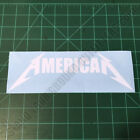 AMERICAN Metallica Patriotic America Second Amendment 2A Decal Sticker