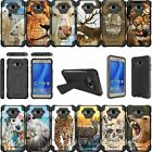 For Samsung Galaxy J1 2016 | Express 3 | Amp 2 Dual Layer Bumper Case - Animal