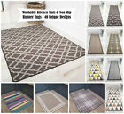 Machine Washable Anti Slip Kitchen Rugs Cheap Durable Easy Clean Hallway Mat UK