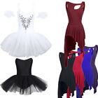 Внешний вид - Women Adult Ballet Dress Tutu Stage Skirt Dance Dress Leotard Dancewear Costume