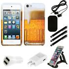 For Apple iPod Touch 5th 6th Gen Design Snap-On Hard Case Phone Cover Combo