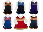 NFL Toddler Girl's Cheerleader Dress 2-Piece Jumper Turtleneck Cheer Outfit #1 $19.99 USD on eBay