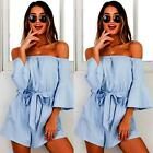Womens Holiday Mini Playsuit Party Jumpsuit Summer Beach Sundress Romper Dress <br/> 100%Brand&amp;New✔High Quality✔Fast Delivery✔Free Shipping✔