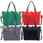 Women Ladies Handbag Faux Leather Shoulder Bag Satchel Messenger Purse Tote Bags