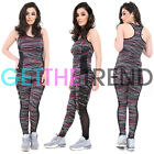 Womens Sports Top Leggings Ladies Gym Running Fitness Track Women Trousers Sale
