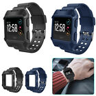Large Replacement Bracelet Rugged Watch Wristband Band Strap For Fitbit Ionic