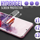 HYDROGEL Screen Protector For Samsung Galaxy S20 Ultra S10 5G S9 S8 Plus Note 9