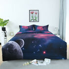 Twin/Full/Queen Galaxies Comforter Set All-season Down Quilted Duvet Reversible