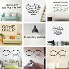 Removable Family Quote Words Wall Sticker Decals Vinyl Mural Living Room Decor