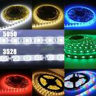 1/5m Super Bright 3528/5050 SMD 60/300 Leds RGB Flexible Strip Home Decor Light