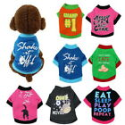 Pets Clothes Multi Colors T-shirt Coat Outfit Dogs Cats Puppy Clothing Costume