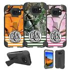 For Samsung Galaxy S7 ACTIVE G891A Case Customized With Your Initials - Camo