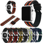 For Apple Watch Series 1 2 3 38/42mm!Replacement Sports Silicone Wristband Strap