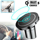 Qi Wireless Car Fast Charger 360° Mount Holder for iPhone X 8 Samsung S9 Note 8