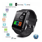 U8s Bluetooth Smart Wrist Watch Fitness Pedometer For Android IOS Samsung HTC LG