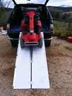 7ft 2.1m Mobility Scooter Wheelchair Folding Suitcase Ramp *VAT Free Price*