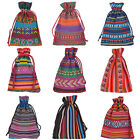 20X Drawstring Jewelry Beads Package Bags Candies Gifts Pouch Bags Tribal GIFT