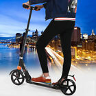Ancheer 2 Wheels Folding Portable Adult Scooter Adjustable Suspension Push Kick!