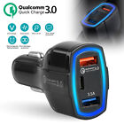 new port ar - Qualcomm QC3.0 Quick Charge Adapter 2 USB Port +Type-C Fast Car Charger 5V/3.5A