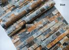 10M 3D Brick Stone Wallpaper Roll Textured Art Wall Paper Home Background Decor