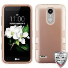 For LG K8 Plus K8+ 2018 Hybrid TUFF IMPACT Phone Case Hard Rugged Cover