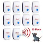 10X 2018 ELECTRONIC ULTRASONIC PEST REPELLER CONTROL RAT COCKROACH ANT FLY FLEA