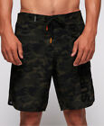 New Mens Superdry Deep Water Board Sho Khaki Camo Aop