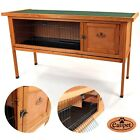 Wooden 122cm Rabbit Guinea Pig Hutch 4 foot Wood House Single Storey Easipet