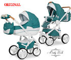 RIKO BRANO LUXE PRAM 4in1 Stroller+Carry cot+Car seat+Isofix + FREE  EXTRAS !!!