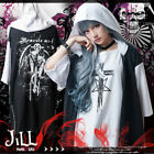 punk visual rock Memento mori gargoyle fortress layered look hoodie【JAG0076】