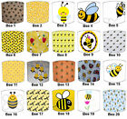 Bees Lampshades Ideal To Match Children`s Bumble Bee Bedding Sets & Duvet Covers