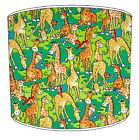 Children`s Lampshades Ideal To Match Zoo Animals Wall Decals Zoo Animals Duvets