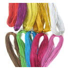 100yds 1mm METALLIC CORD STRING CRAFTS JEWELLERY MAKING GIFTS BRACELET WRAPPING