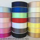 Berisfords Double faced satin sash ribbon 35mm sold per metre for craft