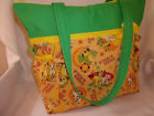 Lion King Simba Nala Disney fabric duffle diaper bag baby shower handbag purse
