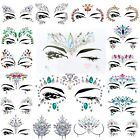 Face Body Gems Glitter Jewelry Tattoo Wedding Festival Party Mermaid Body Makeup