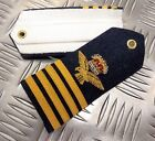 Genuine British Royal Air Force Group Captain Ceremonial Shoulder Boards - NEW photo