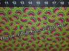 DOG BANDANA Sz XS-L Over Collar WATERMELONS ON LIME Fun Bright Stripes Colorful