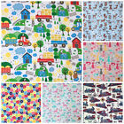 CHILDRENS & NOVELTY FABRICS 100% cotton sold per half metre for sewing
