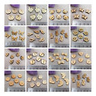 20 x WOODEN BUTTONS *30 STYLES* SHAPED CARTOON SEWING KIDS NATURAL WOOD CARDIGAN
