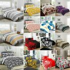 Duvet Cover with Pillow Case Printed Quilt Bedding Set Single Double King Size £12.99 GBP on eBay