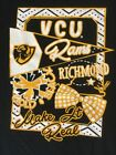 VCU Rams Virginia Commonwealth Youth Girls T-Shirt Front & Back Print!