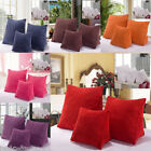 Pillow Bed Back Cushion Triangle Corduroy Office Sofa Lumbar Support Home ILJ