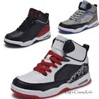 Внешний вид - New Boys Girls High Top Sneakers Kids Tennis Shoes Basketball Athletic Youth
