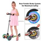 Kids Scooter Deluxe for Age 3-12 Adjustable Kick Scooter Girls Boys 3 LED Wheel